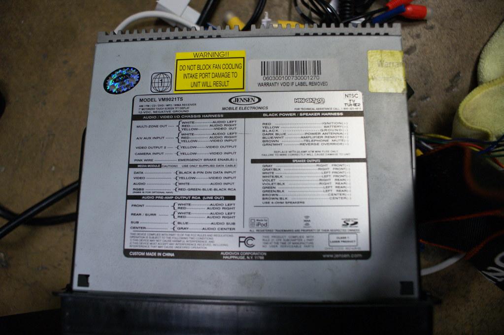 Mach Sound System Wiring