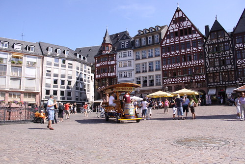 The Beer Bike in Roemerplatz