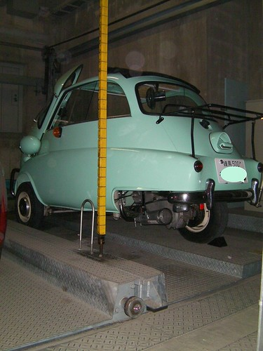 My Isetta Parts -Side brake wire-  (August.21.2009)