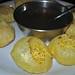 Plate of pani puri at Jyoti's