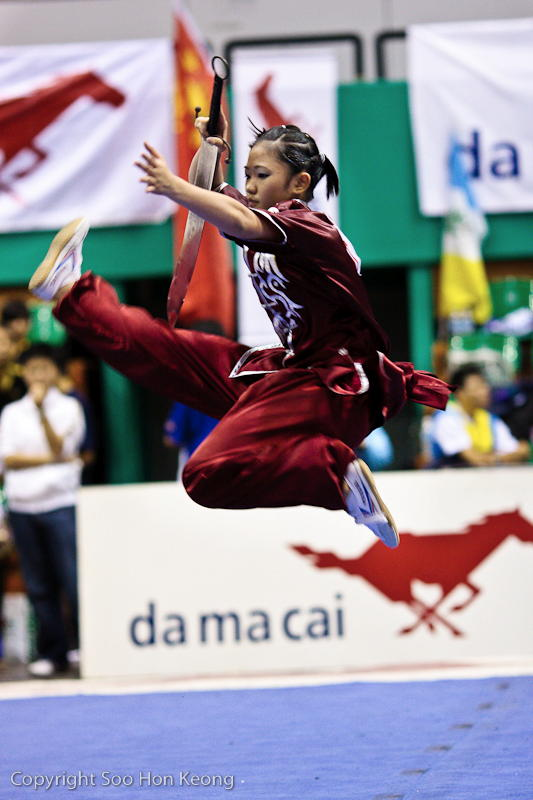 Wushu Competition (Flip Up) @ KL, Malaysia