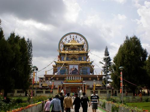 Tibetan temple in Coorg