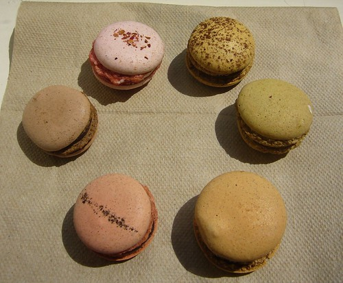 Tiny macarons from Kee's Chocolates