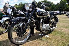 BSA Golden Flash (Bob the Binman) Tags: show field golden nikon flash royal surrey motorbike motorcycle egham bsa d90 caddeys