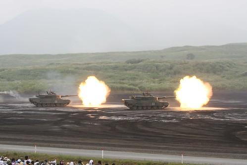 Fire Power 2009 in Fuji富士総合火力演習09