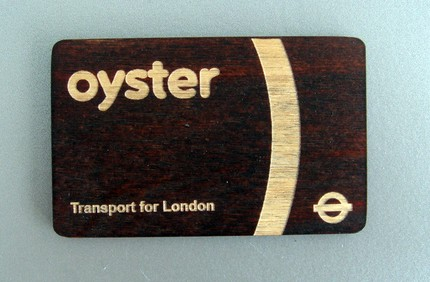 Wooden Oyster card