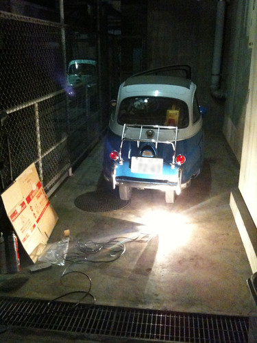 My Isetta in Nerima Japan