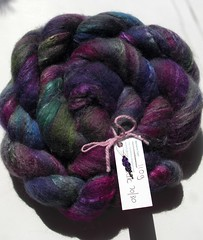 110g BFL Silk 70-30 by Fluff-n-Stuff