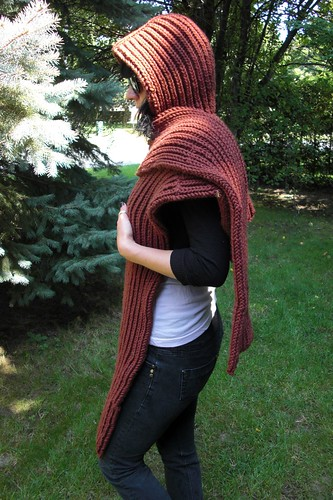 Hannah's hooded scarf Sept. 3-5