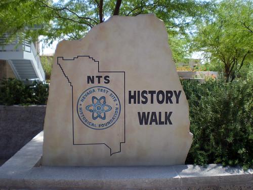 Atomic Testing Museum - History Walk Marker