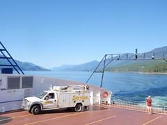 Le ferry de Nelson