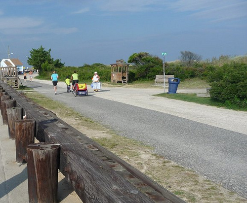 Kids in Tow - North Wildwood Bike Path