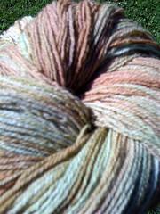 Zombie Targhee yarn