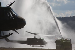 Final Hose Down (Marinehawk12) Tags: aircraft huey helicopter nationalguard uh1 coloradoarmynationalguard