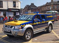 H.M. Coastguard (edowds) Tags: blue rescue car yellow truck scotland service emergency ayrshire largs ayrshirecoast hermajestyscoastguard