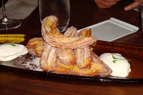 Churros at Beso