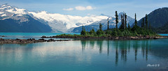 Garibaldi Lake, BC (PhotoDG) Tags: lake canada color landscape whistler lava bc britishcolumbia glacier alpinelake garibaldi squamish seatosky garibaldilake battleshipisland garibaldiprovincialpark vocalno thebarrier