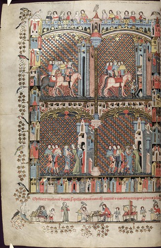 The Romance of Alexander 164v MS. Bodl. 264