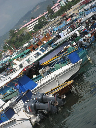 The Fishing Village at Cheung Chau