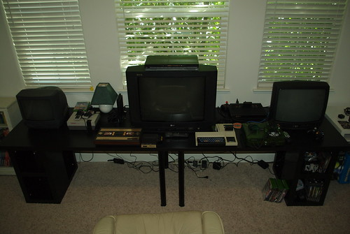 Classic gaming room