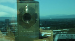 Vegas: Window Reflection (Batty aka Photobat) Tags: camera vegas trumpinternationalhotel reflectioninwindow