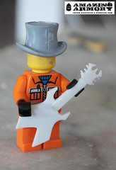 Amazing armoury custom minifig guitars 2 (timeforacatnap) Tags: toys lego accessories minifig minifigs custom brickarms brickforge customminifigs