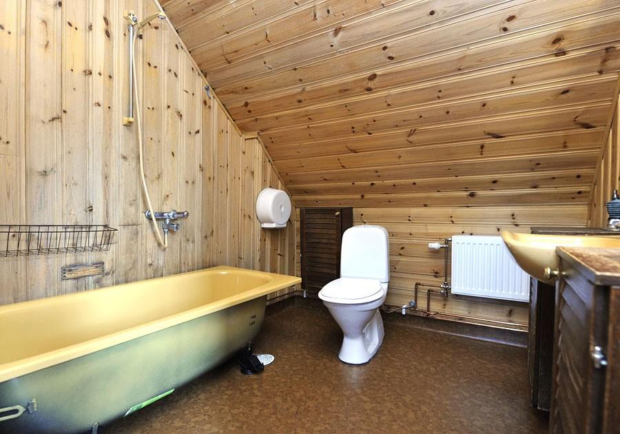Badrummet före renoveringen