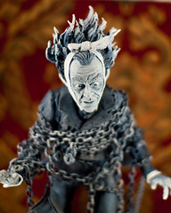 Ghost of Jacob Marley Closeup