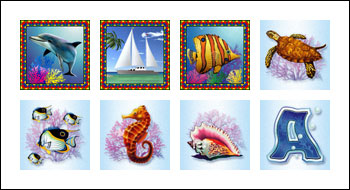 free Crystal Waters slot game symbols