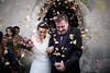 magda & michał (adam chrabaszcz) Tags: wedding church happy groom bride joy happiness magda kwiaty michał kościół ślub róże szczęście pannamłoda wyjście płatki panmłody