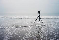 aftermarth (lomokev) Tags: sea holiday beach canon eos nikon kodak tripod kodakportra400vc devon 5d portra woolacombe nikonos kodakportra400 canoneos5d kodakportra deletetag nikonosv nikonos5 nikonosfive ricsky roll:name=090923nikonosvvc file:name=090923nikonosvvc37