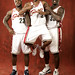 Shaq/LeBron/Mo Media day 2009/10