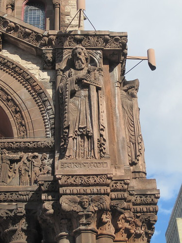 Trinity church detail