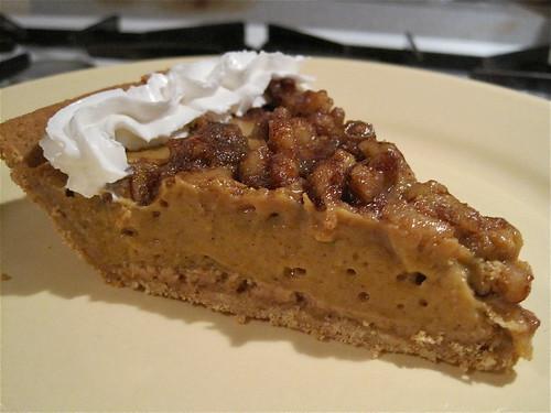 Vegan Pumpkin-Nut Pie