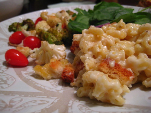 mac and cheese dinner