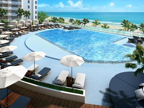 Hotel outdoor pool design  Gansevoort Hotel Interior and Outdoor Design:: Live Home Decor