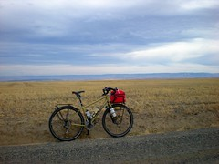 More Fargo (Doug Goodenough) Tags: fargo salsa salsafargo bicycle bike cycle ride pedals spokes douggoodenough doug goodenough 2009 09 october oct silcott grade washington clarkston snake gravel drg531 drg53109 drg53109p lctrcbike