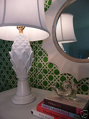 pineapple lamp girl meets glamour by ccinteriors.