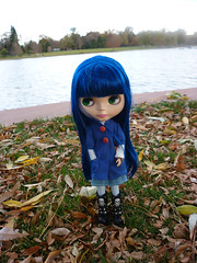 Quinne at the park