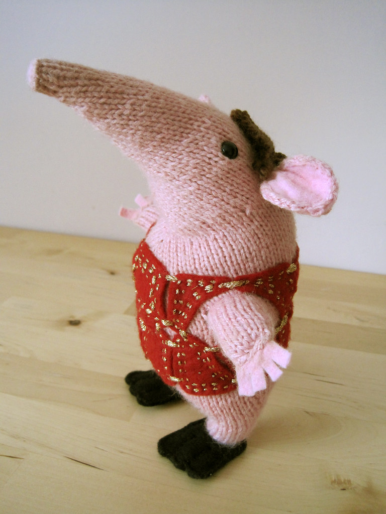 Knitting Pattern For Clangers : Clanger! The little house by the sea