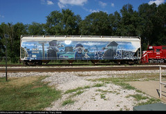 katch (NASA CREW) Tags: art train hawaii graphic skateboard gnarly boxcar aerosol freight nk ballpointpen wholecar nasacrew naturalkoncept katch1 departatsunset