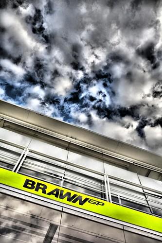 Hospitality trucks for Brawn GP