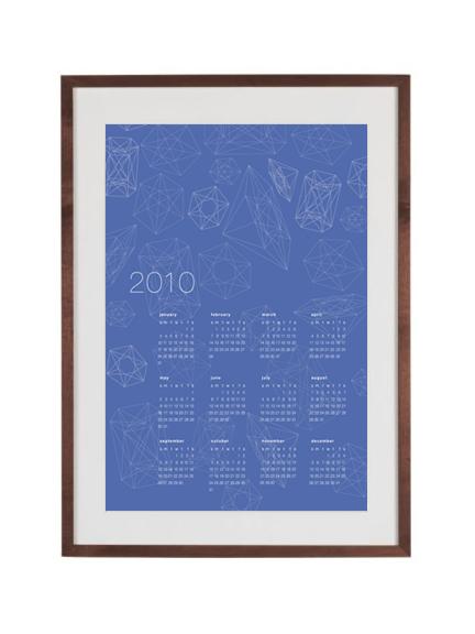 poster 2010 calendar