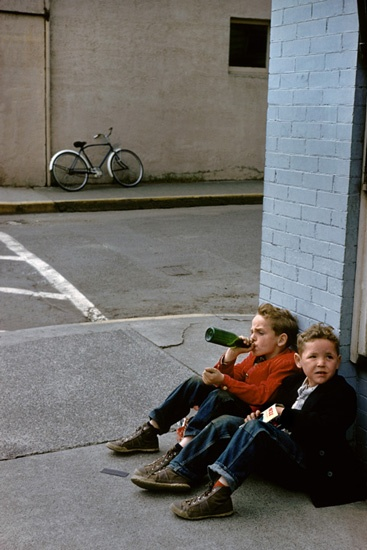 fred herzog two boys
