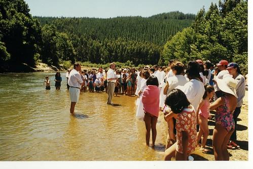 Rick at Arauco baptism