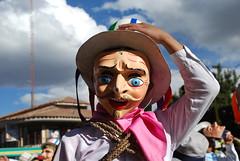 Boy in mask (Boring Lovechild) Tags: peru southamerica inca cuzco cusco inka 2009 sacredvalley sudamrica qosqo june2009 vivatravelguidescuscoandmachupicchu