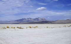 Guadalupe Mountains at Salt Flat