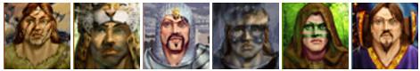 Heroes Chronicles Tarnum Portraits