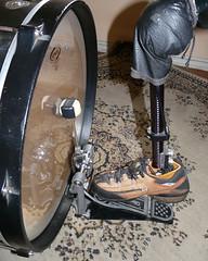 Tulio - Ação da Prótese no Bumbo (2) (TULIO FUZATO - THE AMPUTEE DRUMMER) Tags: tulio fuzato