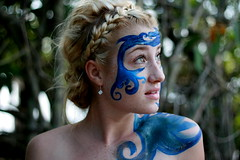 Mother Sea Part III (Ally Newbold) Tags: ocean sea slr water girl youth digital canon hair allison photography rebel three paint iii young mother part teen taylor teenager killa mermaid blake xti